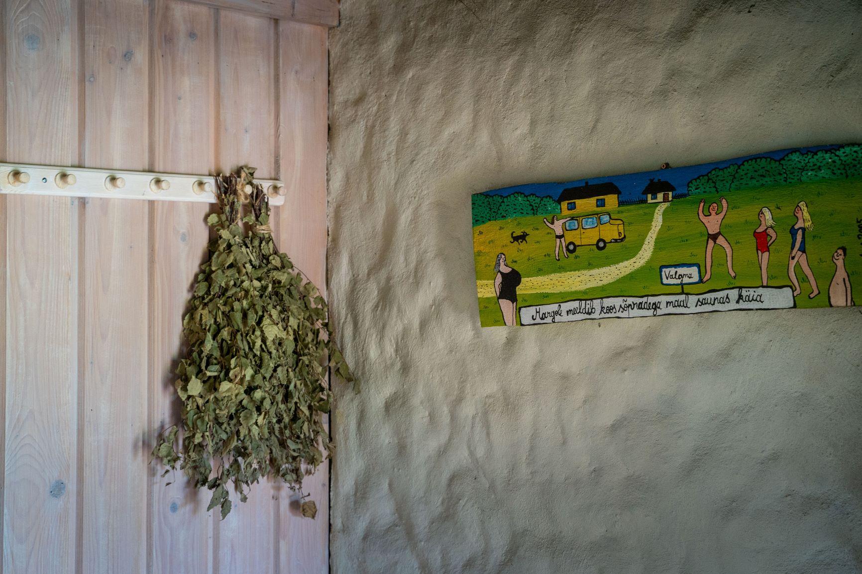 Hindreku turismitalu saun